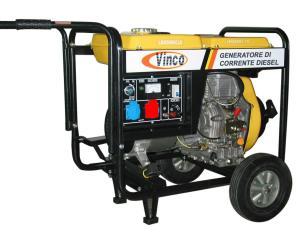 Generatore ldg5000cle 3 vinco for Generatore di corrente honda usato