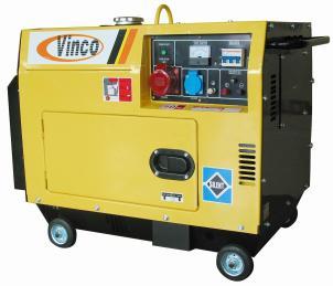 Generatore ldg5000lse 3 vinco for Generatore di corrente diesel usato